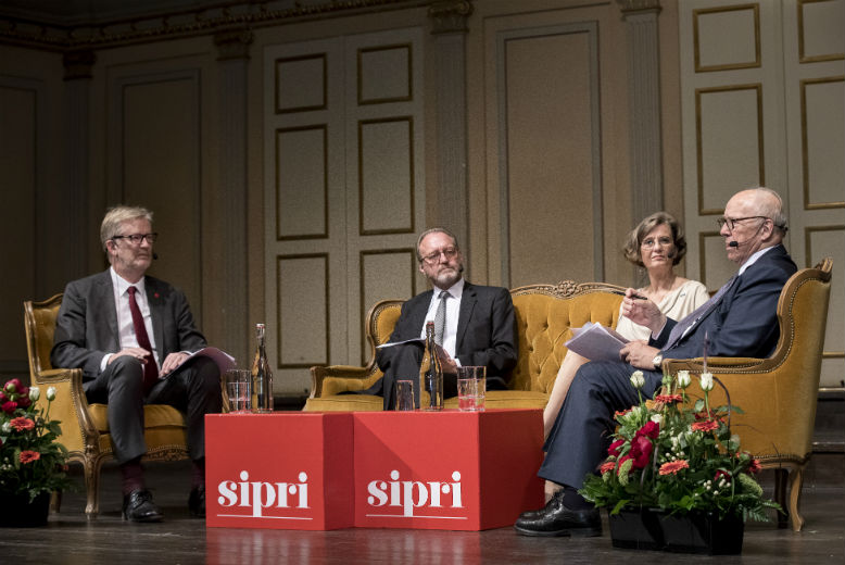 Inaugural SIPRI Lecture: Is the world on the road to peace or war? by HE Dr Hans Blix