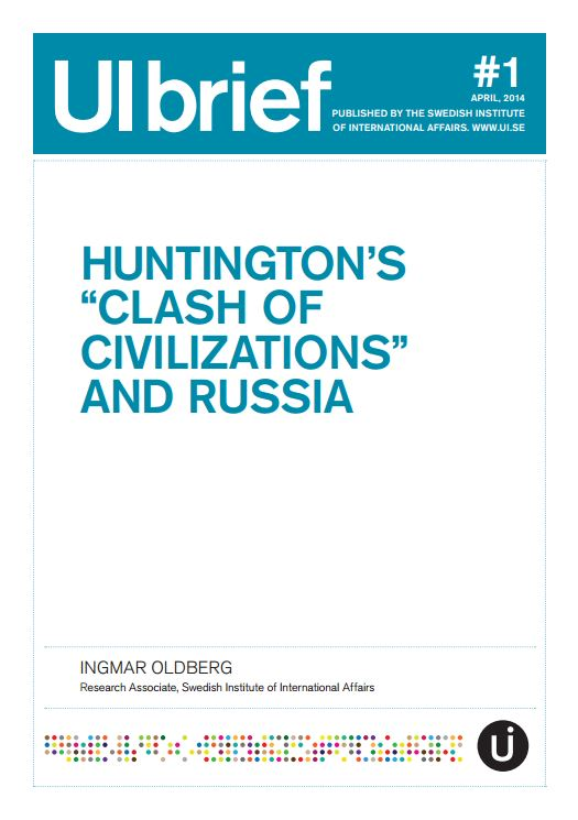 "Huntington's ""Clash of Civilizations"" and Russia"