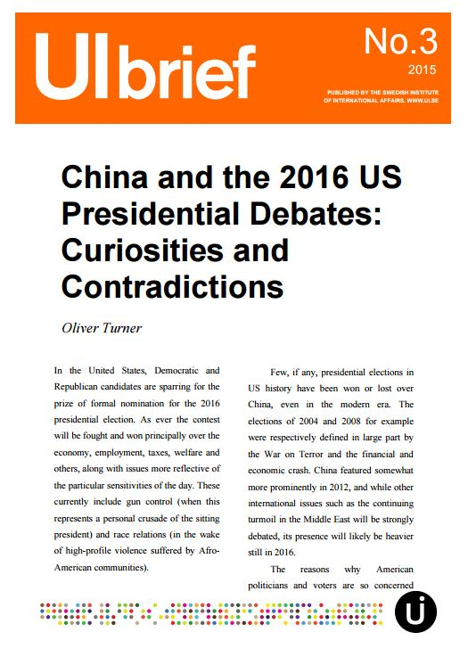China and the 2016 US Presidential Debates: Curiosities and Contradictions