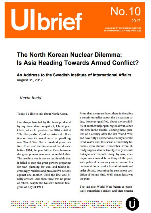The North Korean Nuclear Dilemma: Is Asia Heading Towards Armed Conflict?