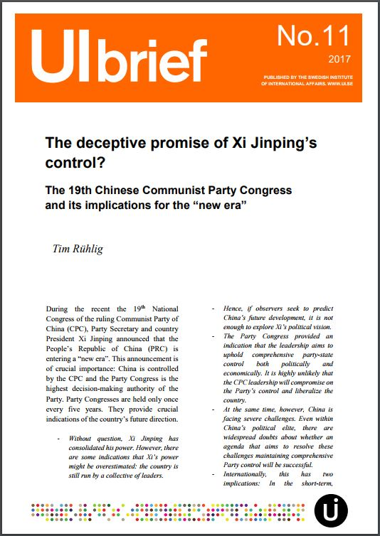 The deceptive promise of Xi Jinping's control?