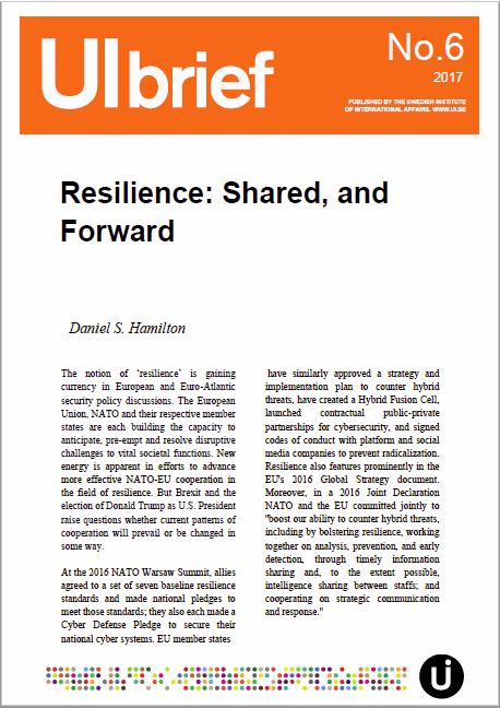 Resilience: Shared, and Forward