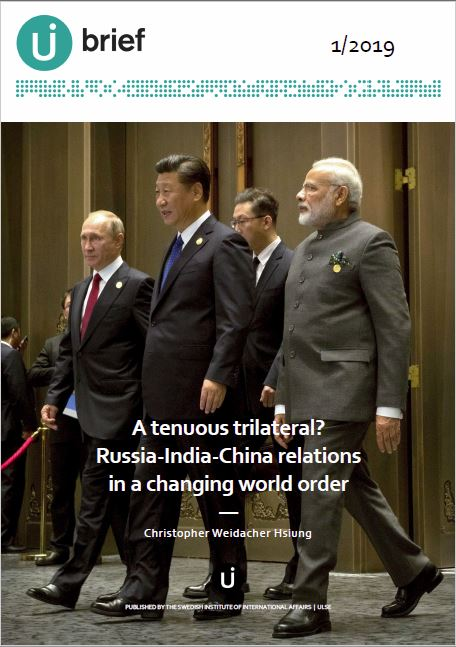 A tenuous trilateral? Russia-India-China relations in a changing world order