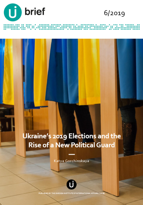 Ukraine's 2019 Elections and the Rise of a New Political Guard