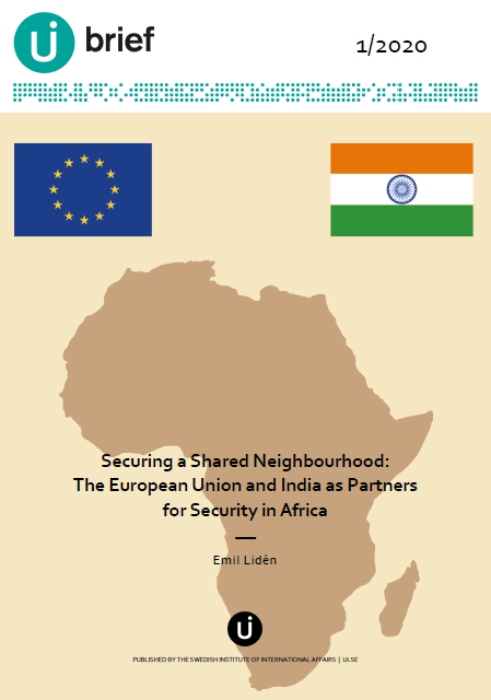 Securing a Shared Neighbourhood:  The European Union and India as Partners for Security in Africa