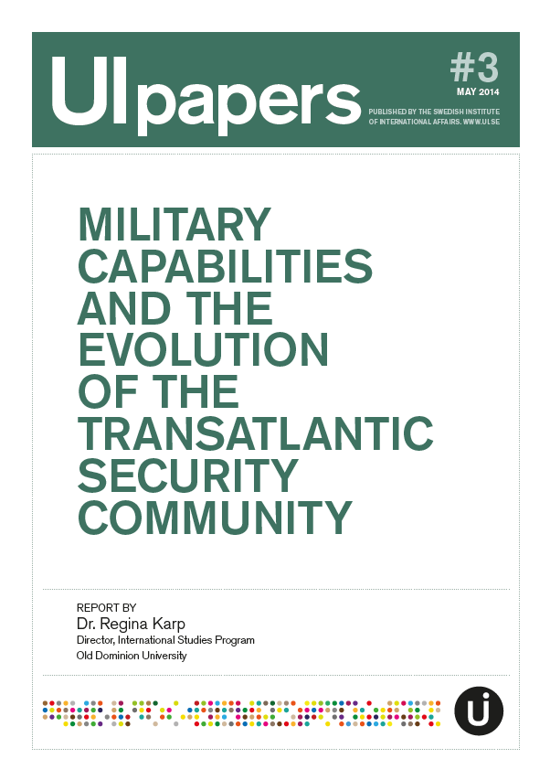 Military Capabilities and the Evolution of the Transatlantic Security Community