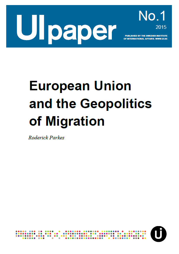 European Union and the Geopolitics of Migration
