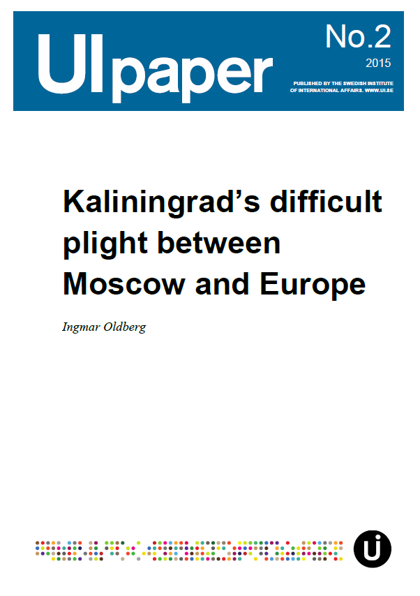 Kaliningrad's difficult plight between Moscow and Europe