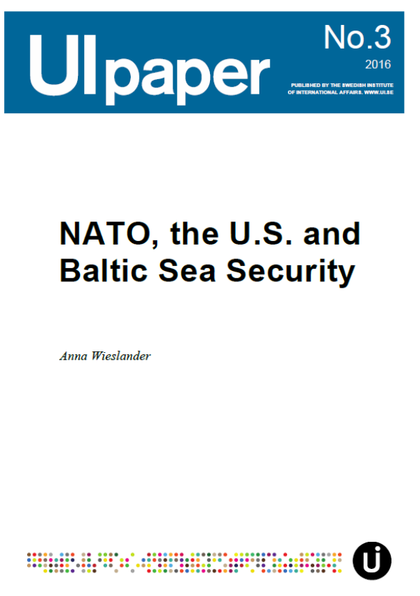 NATO, the U.S. and Baltic Sea Security