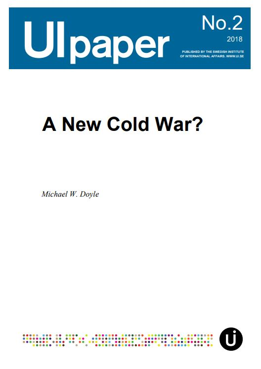 A New Cold War?