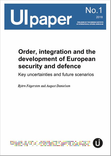 Order, integration and the development of European security and defence