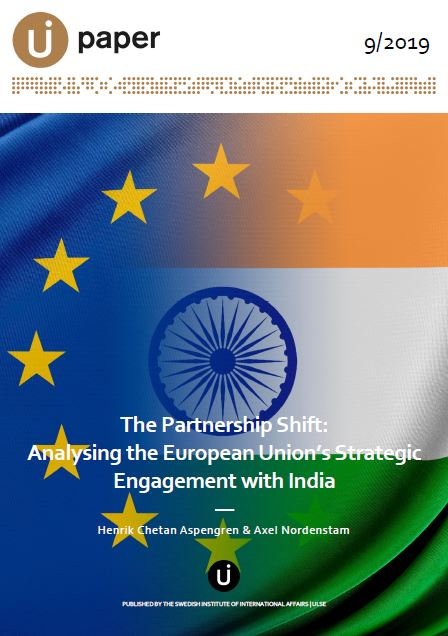 The Partnership Shift: Analysing the European Union's Strategic Engagement with India
