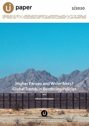 Higher Fences and Wider Nets?  Global Trends in Bordering Policies