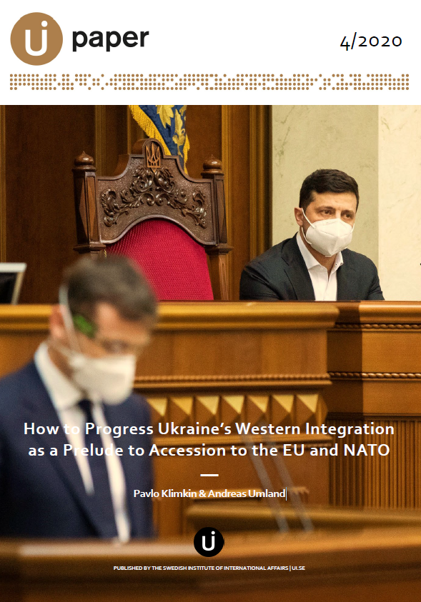 How to Progress Ukraine's Western Integration as a Prelude to Accession to the EU and NATO