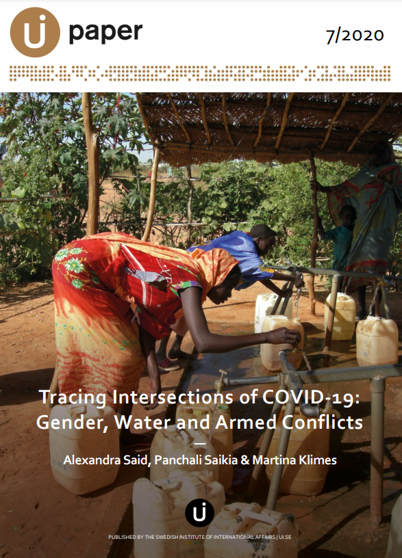 Tracing Intersections of COVID-19: Gender, Water and Armed Conflicts
