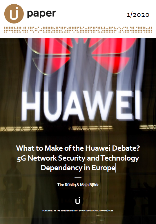 What to Make of the Huawei Debate? 5G Network Security and Technology Dependency in Europe