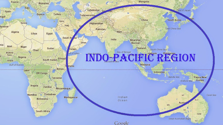 Successful funding application for a workshop on the Indo-Pacific