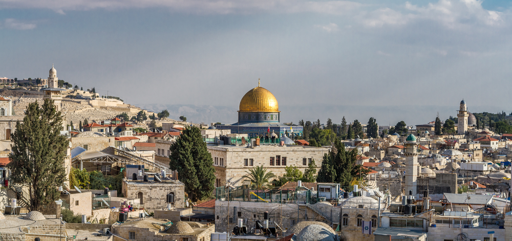 The Dome of the Rock in the Old City in focus. Yet East Jerusalem with its 370,000 Palestinians is the lesser known part of the city. Photo: Alefbet/Shutterstock
