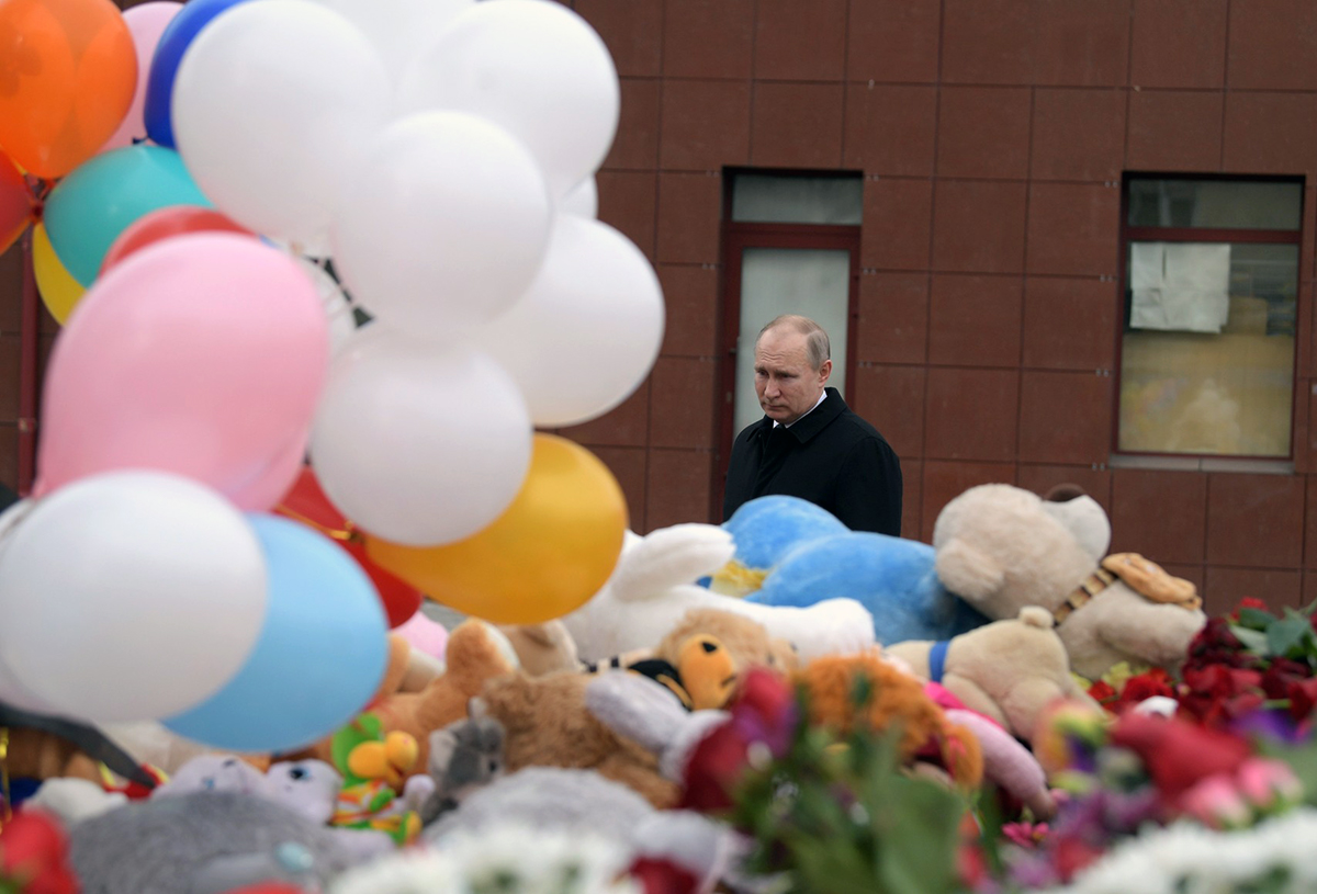 Vladimir Putin A Tsar Without Loyal Subjects