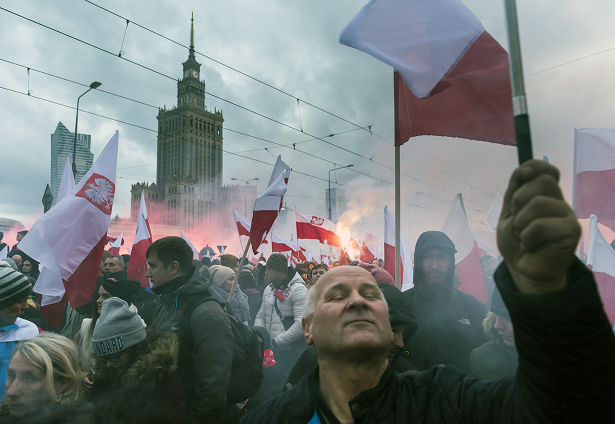 The annual march of Poland's National Independence Day, November 11 2017. Photo: Shutterstock