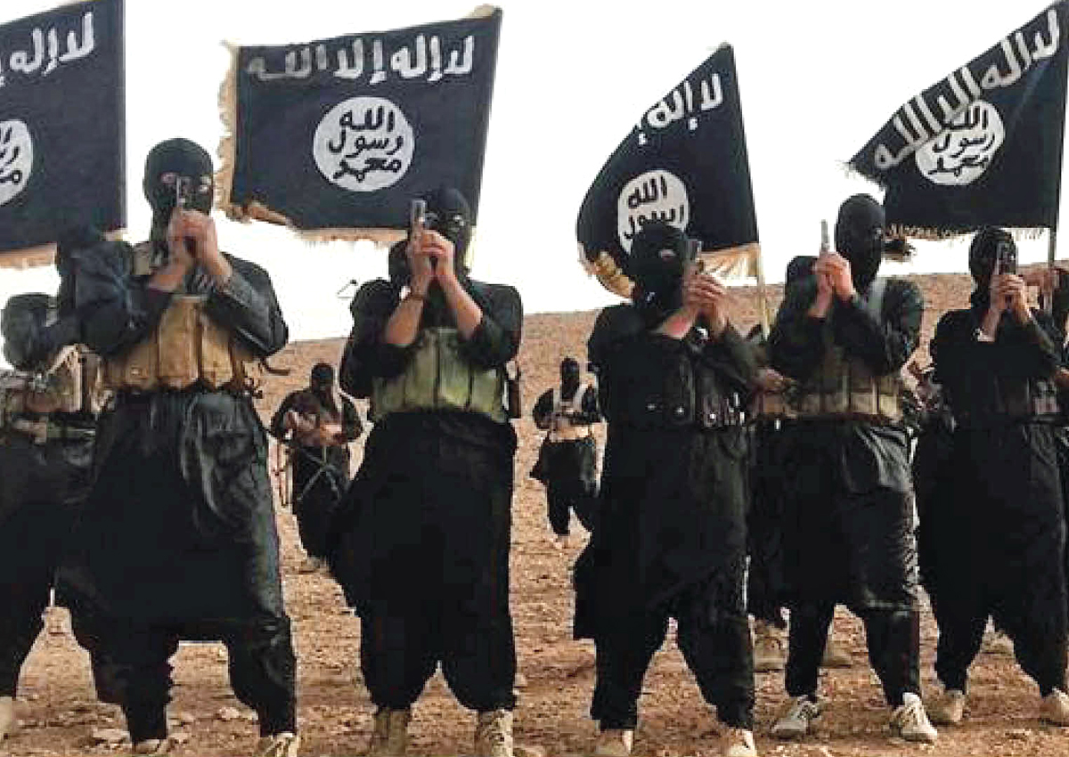 Islamic State fighters in Anbar province in Iraq. Photo: Wikimedia Commons
