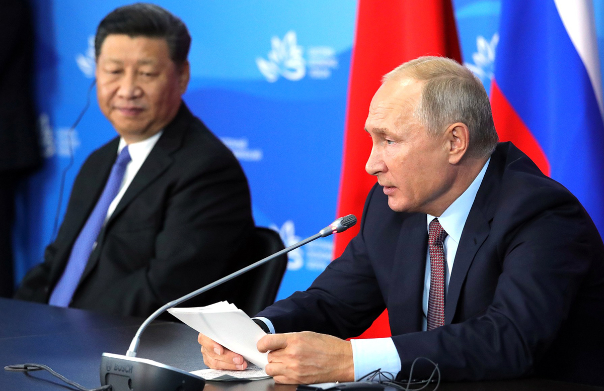 Russia and China: diverging partners in Eurasia