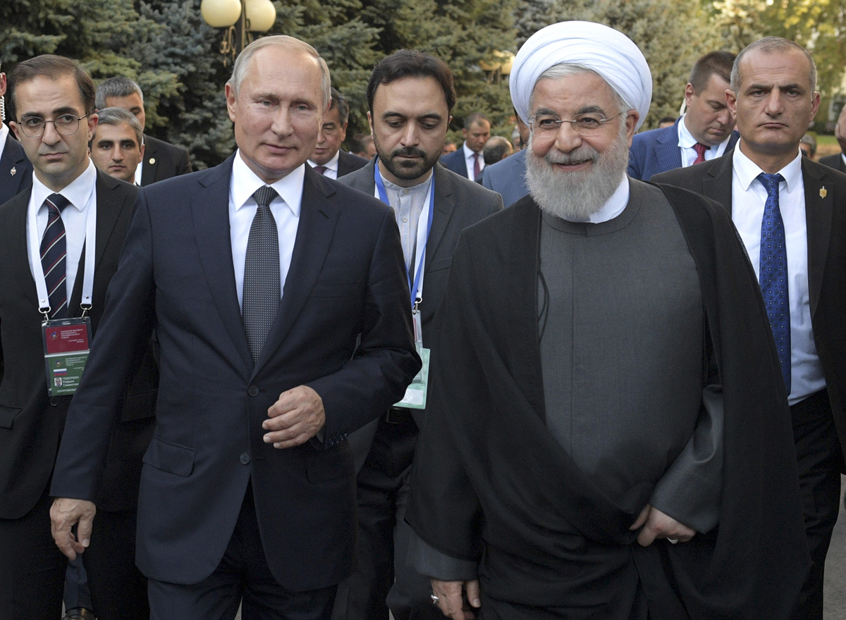 The Russia-Iran Relationship in a Sanctions Era